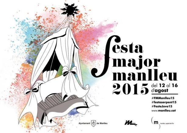 Cartell Festa Major Manlleu 2015